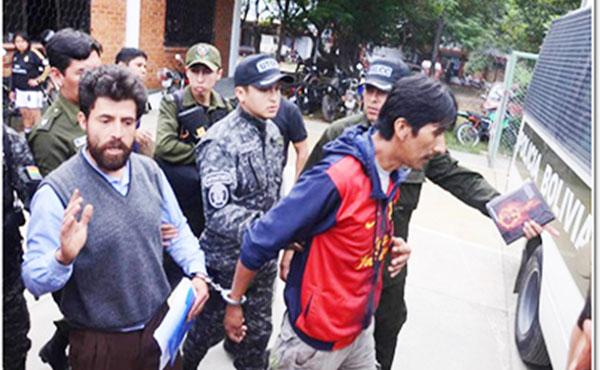 Los dirigentes Elmer Lizarazu y Herbat Valencia fueron secuestrados y golpeados por un grupo armado encapuchado el día 24 de diciembre y luego trasladados a la cárcel de San Sebastián, donde permanecen detenidos.