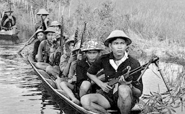Los legendarios combatientes del Vietcong