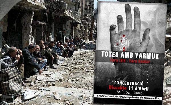 La situación humanitaria ya era desesperada, y ahora Yarmuk se ha convertido en un campo abierto de batalla