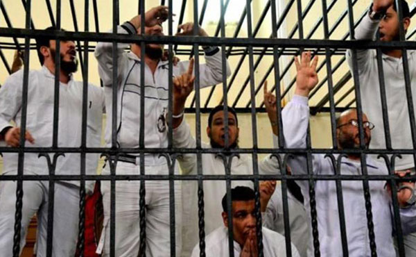 We do not grant any rights to this murderous dictatorship to judge anyone. It will be the working people and youth, who started the revolution, who may try former President Mursi, head of the MB, and also these military murderers who purport to speak on behalf of the revolution when they are the agents of the counterrevolution.