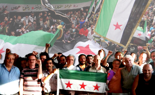 With the people of Syria: down with Bashar, Daesh and the imperialist interventions!