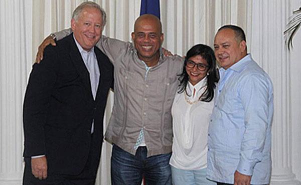 Thomas Shannon reunido con Diosdado Cabello
