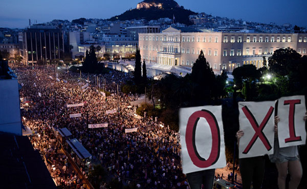The workers, youth, popular sectors and the left have taken to the streets to repudiate, once again, the Troika and calling for a NO. We join in solidarity with that call.