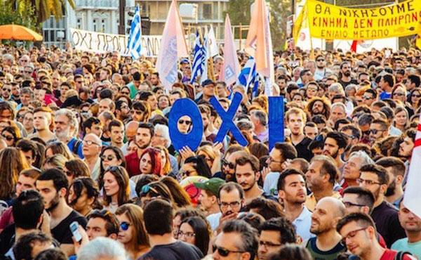 El triunfo del NO en el referendo griego por casi el 62% al 38% del SI, fue contundente, una gran victoria de los trabajadores y el pueblo griego.