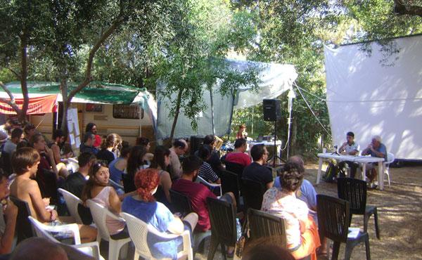 a delegación participó del XIII° Campamento Anticapitalista organizado por la organización OKDE