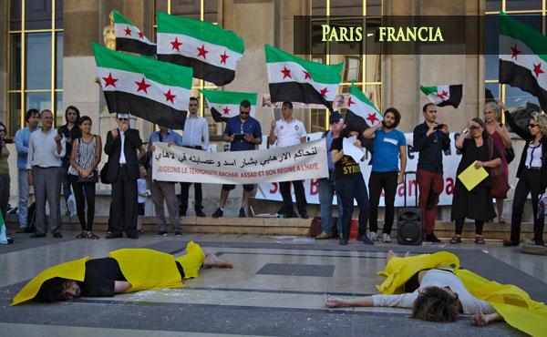 Jornada mundial de solidaridad con la Revolución Siria - 21/8/2015