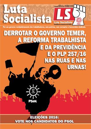 Luta Socialista N°11 - Agosto 2016