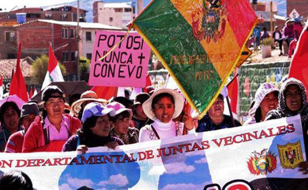 Pötosí es el Departamento más pobre de Bolivia y posiblemente el más pobre de Latinoamérica.