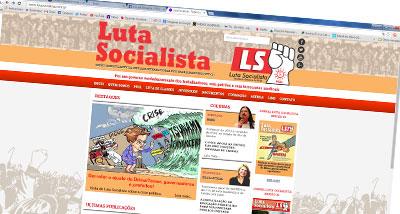 Sitio web - Luta Socialista - PSOL