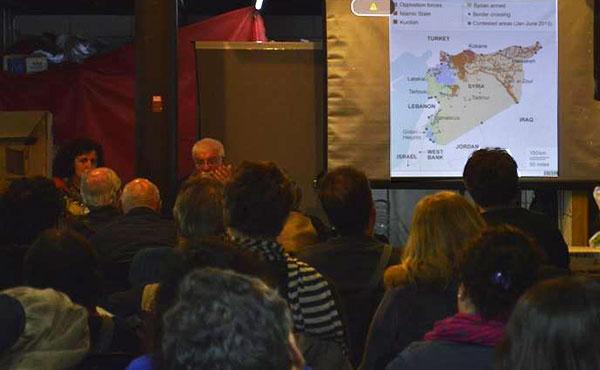 Charla ¿De qué huyen los refugiados sirios? con Miguel Sorans | 12- 9- 2015