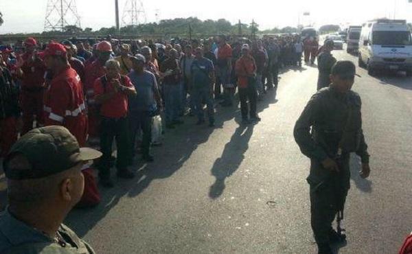 Venezuela: Trabajadores petroleros se movilizan contra despido de dirigente sindical combativo y antiburocrático