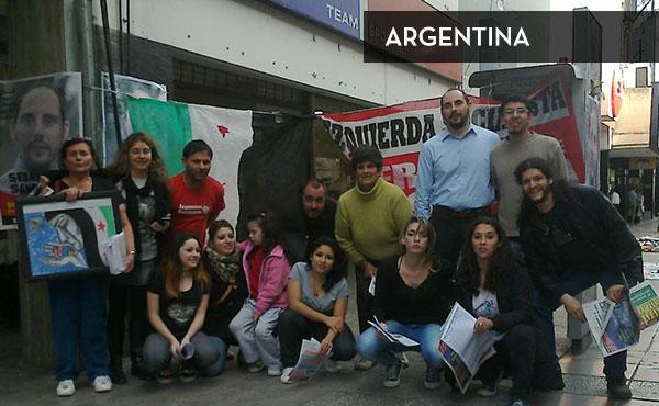 Actividad en la ciudad de Rosario, Argentina