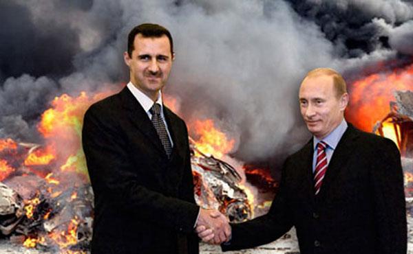 ¡Alto a los bombardeos rusos en Siria!