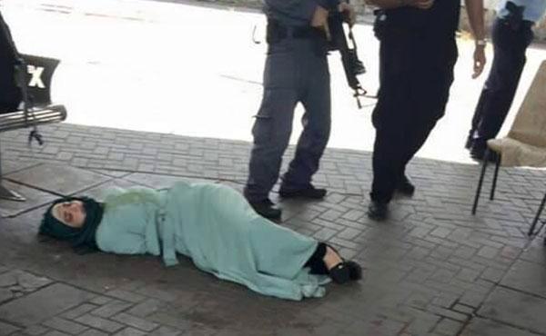 Isra de 29 años fue baleada en Afula por varios soldados y policías sionistas. Las ejecuciones arbitrarias se han multiplicado.