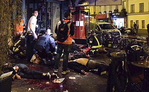Dans la nuit du 14 novembre, Paris, la capitale française, a connue une série d'attentats. Le nombre des victimes s'élève à environ 129.
