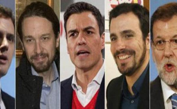 Llamamos a votar aquellas opciones de izquierda que dicen no querer la continuidad del régimen del 78, y concretamente, las variantes de Podemos a nivel estatal.