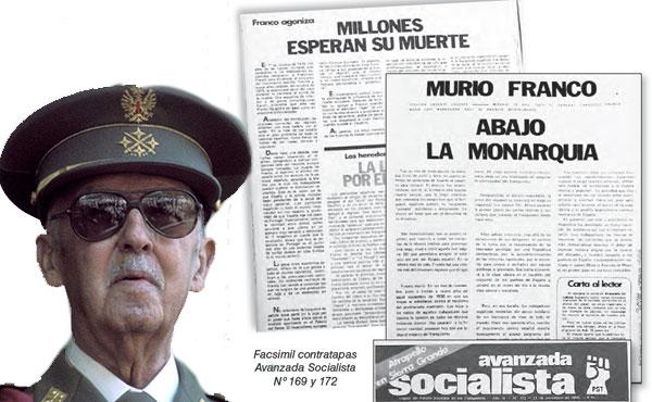 """El """"caudillo de España por la gracia de dios"""" murió el 20 de noviembre de 1975."""