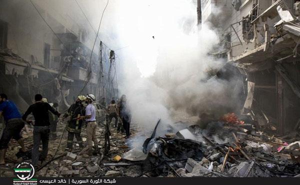 En las últimas semanas el régimen de Al-Assad y la aviación rusa han intensificado su criminal ofensiva sobre Alepo.