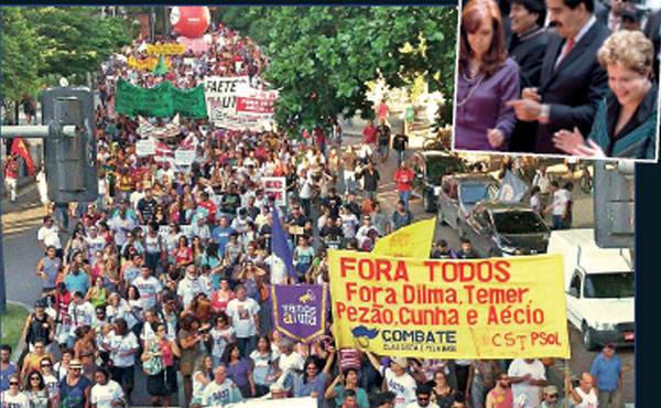 """Lo que predomina en Latinoamérica es el debate sobre el porqué de la crisis y retroceso de los mal considerados gobiernos """"progresistas""""."""