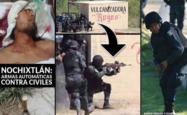 El POS-MAS (sección mexicana de la UIT-CI) condena la cobarde represión contra el magisterio oaxaqueño