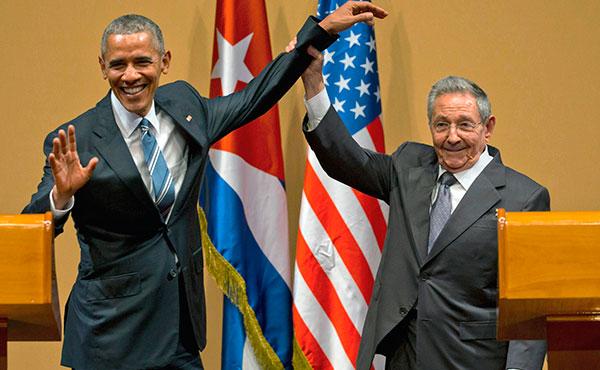 Obama y Castro: una alegría compartida