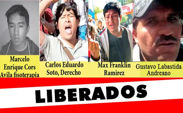Liberan dirigentes estudiantiles y sindicales en Bolivia y México