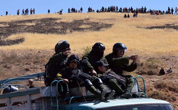 Entre el 25 y 28 de agosto último fueron muertos o heridos de muerte 5 mineros a balazos de la policía.