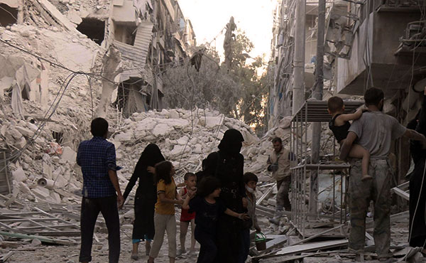 Aleppo is the Guernica of the 21st century