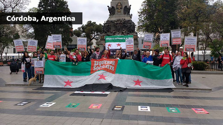 40 ciudades de todo el mundo se sumaron al repudio mundial a este genocidio.