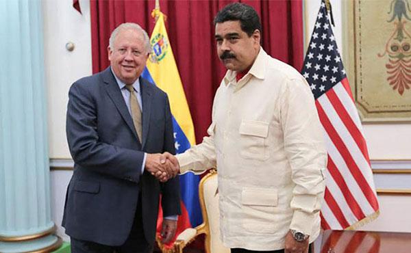 Thomas Shannon y Nicolás Maduro: Ese diálogo no traerá nada bueno para el pueblo trabajador