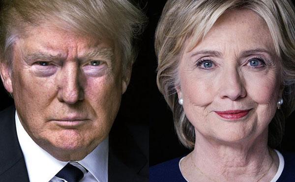 Hillary Clinton y Donald Trump los candidatos del descreimiento popular