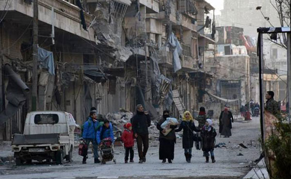 Heroic Aleppo falls into the hands of genocidal al-Assad