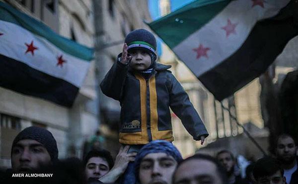 Se cumplen 6 años del incio de la revolucion Siria en marzo de 2011