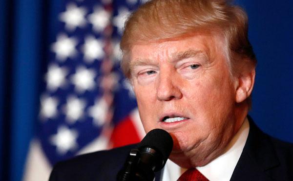 El magnate Donald Trump presidente de los EEUU