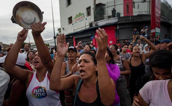 Protestas por el hambre