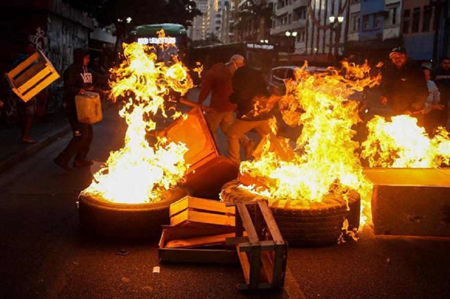 Protestas en Sao Paulo 30 de junio