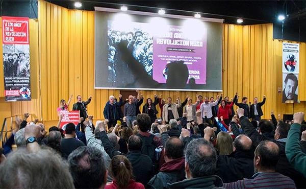 Acto por los 100 años de la Revolución Rusa en Buenos Aires