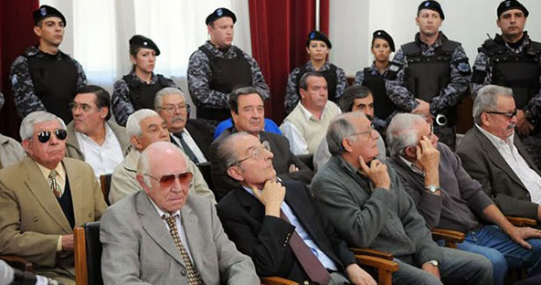 jueces represores argentinos