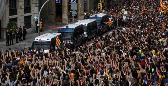 Huelga general en Barcelona