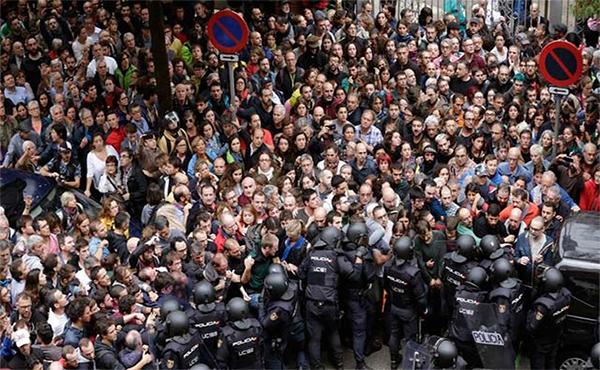 Represión en Catalunya