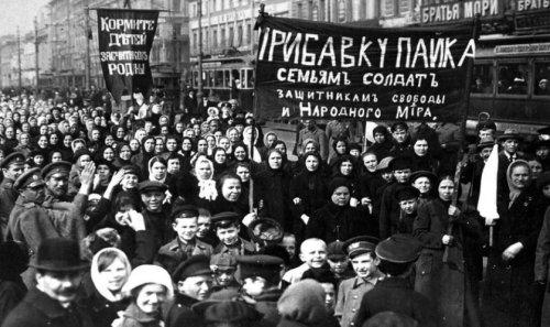 mujeres rusas 1917
