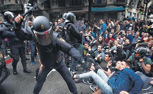 Represión española en Catalunya