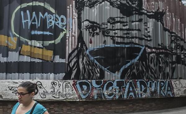 Venezuela: Graffiti contra la dictadura
