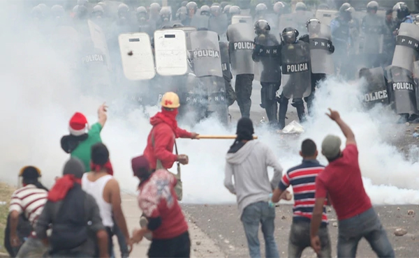 Honduras en lucha
