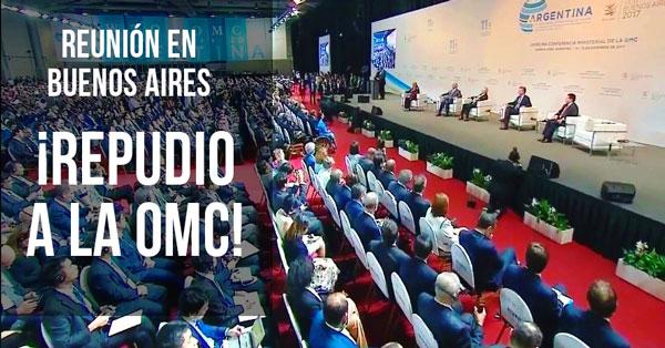 Repudio a la OMC