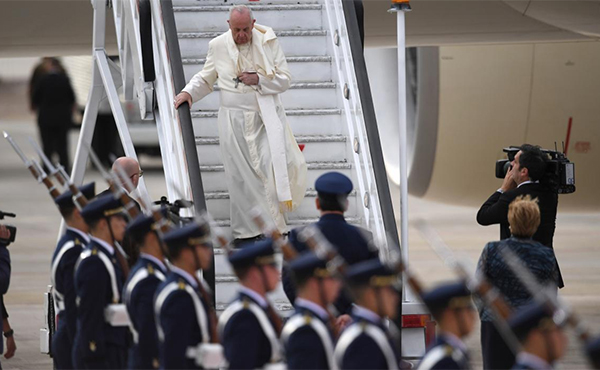 Bergoglio en Chile