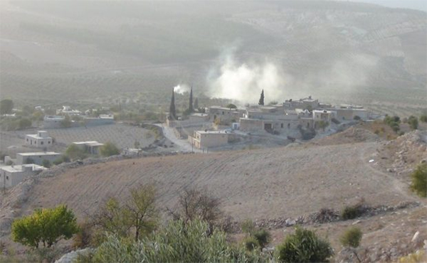 Bombardeos contra Afrin