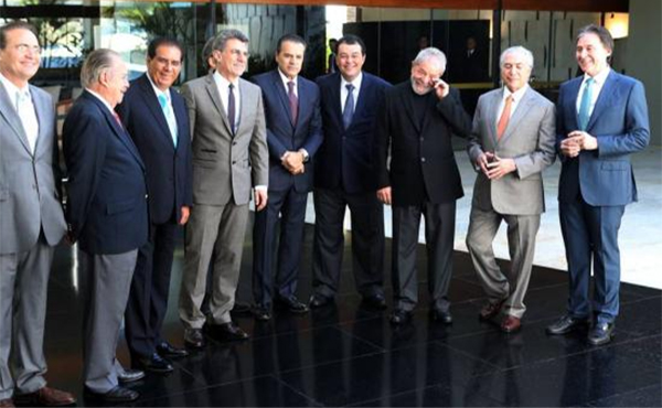Lula Temer y otros corruptos