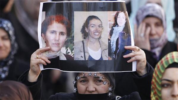 dirigentes kurdas asesinadas