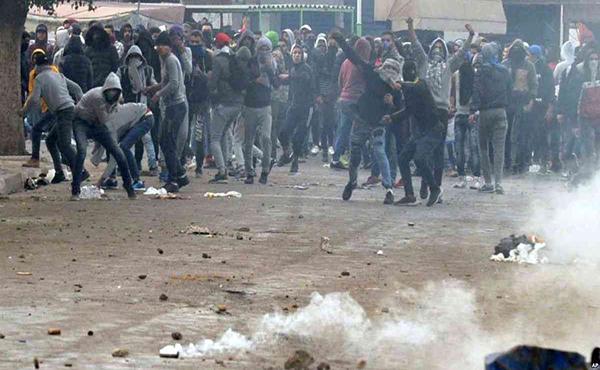 Túnez protesta